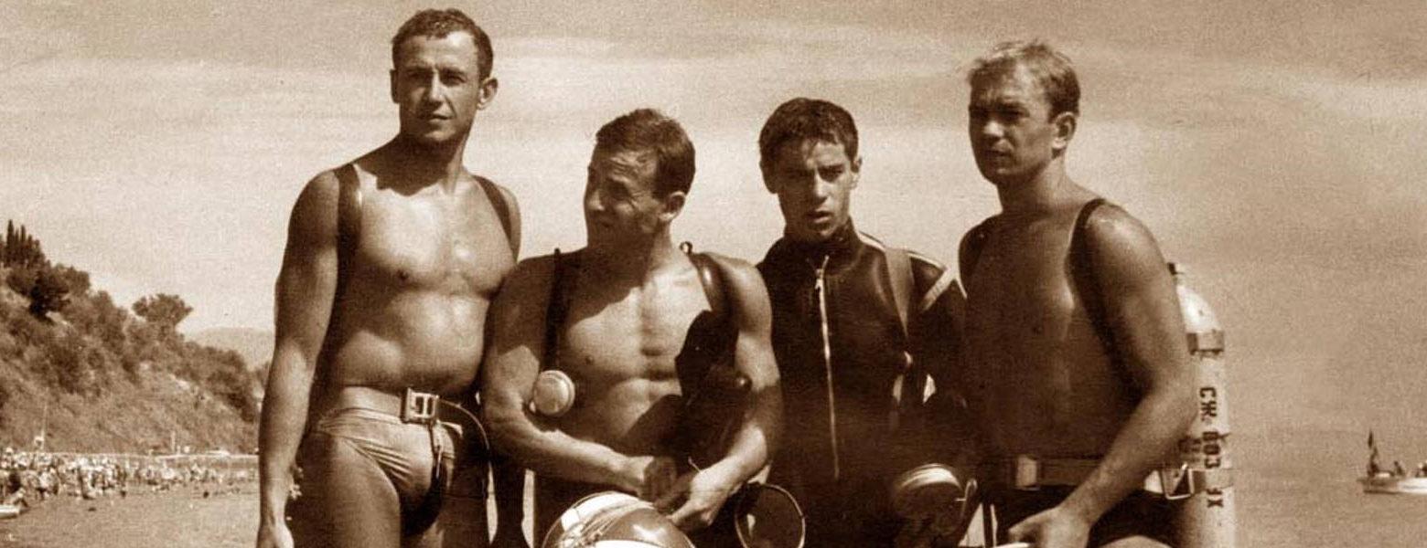 Перші майстри підводного спорту Украіни